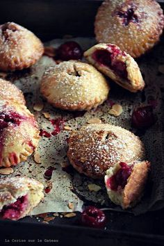 Cherry Pies. one of my favorite food photos of all time. worth a repost. cheers
