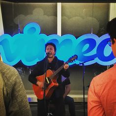 Private show from @stolarmusic at the @vimeo HQ #perksofthejob