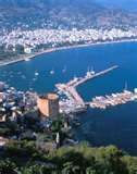 Alanya Harbour from the Castle
