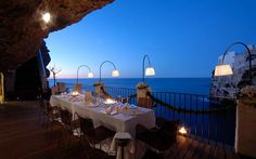 Grotta Palazzese grottapalazzese.it Most Romantic Restaurant in the World?