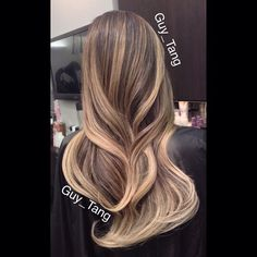 Guy Tang signature ash blonde ombre