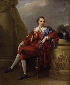 Portrait of John Simpson, 1777 - Angelica Kauffman