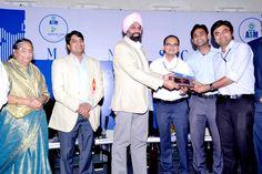 Mindscape Winner trophy presented to TATA Motors Ltd Team.