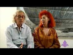 The artists behind The Gates Christo and Jeanne-Claude. New York City, U. Christo and Jeanne-Claude. Flipped Classroom, Art Classroom, The Gates Christo, Ap Art History 250, Christo And Jeanne Claude, Art Quiz, Richard Long, Content Area, Giza