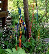 painted garden sticks - sweet thing(s)