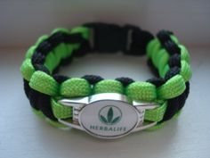 Black and Green Herbalife Bracelet