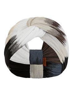 Missoni Ombre Chevron Top Knot Headband