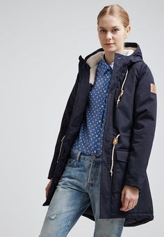 Derbe FESTLAND FRIESE - Parka - dark navy - Zalando.pl
