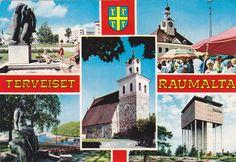 Kuva: RAUMA 1981 Vintage Postcards, Finland, Album, Baseball Cards, Vintage Travel Postcards