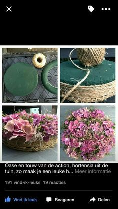 Discover thousands of images about Table Floral DIY - tray to hold cactus Flower Crafts, Diy Flowers, Flower Decorations, Paper Flowers, Wedding Flowers, Deco Floral, Arte Floral, Floral Design, Deco Champetre