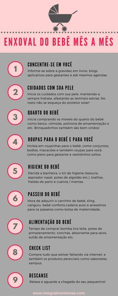 Check out 7 tips on how to save on the baby layette!- Confira 7 dicas de como economizar no enxoval do bebê! Baby layette – Baby layette: calm down, you don& have to buy everything at once! Mom And Baby, Our Baby, Baby Love, Baby Kids, Baby Layette, After Baby, Pregnant Mom, Baby Art, Unique Baby