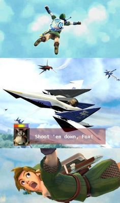 The Legend of Zelda & Star Fox