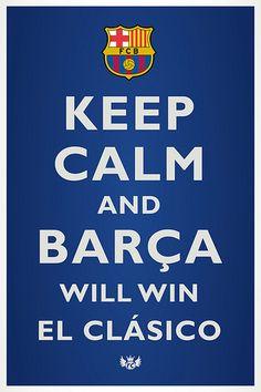 of course....VAMOS BARCA!!!!