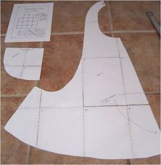 One Yard Apron. Modify top for sweetheart neckline, add straps. Add ruffle at hem. Use facings instead of bias tape.