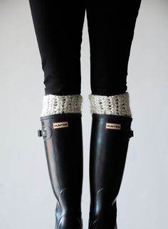 Boot Warmers Leg Warmers Boot Cuffs / THE ARCTICS / by ozetta, $40.00