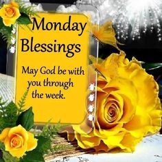 Monday Blessings.