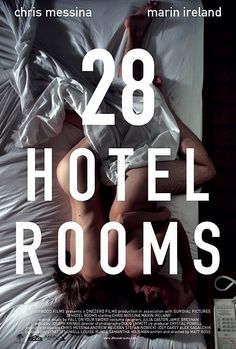 28 Hotel Rooms Both traveling for work, in a city in which neither lives, a man and a woman have a one-night stand. Months later, in another city, they run into each other in a hotel restaurant and sleep together a second time. Though she's married and he has a girlfriend, they decide to keep meeting. This begins an unexpected love that slowly evolves into a profound relationship and threatens to impact everything else in their lives: Trailer: http://www.youtube.com/watch?v=bSN5Hvh8bts
