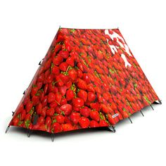 FieldCandy Tent: Strawberry Surprise  Strawberries 'n' dreams
