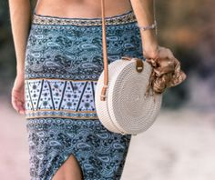 Rattan Bags for Women - Handmade Wicker Woven Purse Handbag Circle Boho Shoulder Bag Bali, Straw Handbags, Purses And Handbags, Travel Handbags, Hobo Crossbody Bag, Tote Bag, Round Bag, Trekking, Straw Bag, Boho Chic