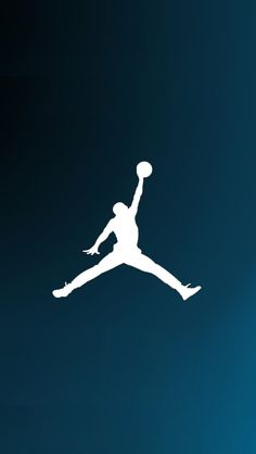 You have probably seen the Jumpman logo on numerous Nike shoe and clothing apparel. Air Jordans, first released in 1985 and worn by Michael Jordan,. Jordan Logo Wallpaper, Nike Wallpaper, Apple Wallpaper, Cool Wallpaper, Wallpaper Backgrounds, Cute Images For Wallpaper, Basketball Art, Basketball Pictures, Best Iphone Wallpapers