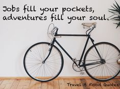 Travel Inspiration Food Quotes, Travel Quotes, Travel Inspiration, Adventure, Quotes About Food, Adventure Movies, Adventure Books