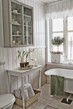 little, white, bathroom