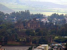 Gondar Castles in Ethiopia Didnt know there was castles in Africa did you??