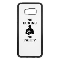 NO BOXING NO PARTY - Samsung Galaxy S8 Edge Rubber Case #mmashirts #mmatshirt #mmahoodie  #jiujitsu #bjj #brazilianjiujitsu #mma #judo  #martialarts #mixedmartialarts  #caps #hats #mensfashion  #womensfashion #rolling #roll #wrestling #muaythai #boxing #boxingTshirt #karate #kickboxing #legend