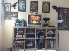 My retro game room. Thought you guys would enjoy it!