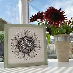 Image result for fibonacci sunflower tattoo