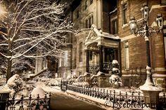 Winter on Dearborn