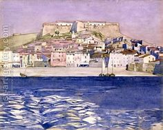 CRM Watercolour: 'Collioure'