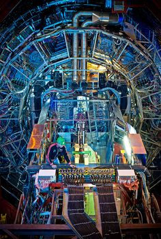 Scientists have hailed a successful switch-on for an enormous experiment which will recreate the conditions a few moments after the Big Bang. They have now fired two beams of particles called protons around the 27km-long tunnel which houses the Large Hadron Collider (LHC).