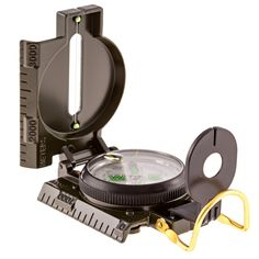 Hiking Compass - Field Military Marching Army Outdoor Camping Hiking Lensatic with Luminous Display plus Bonus Clip! -- For more information, visit image link.