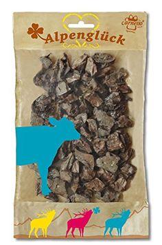 Aus der Kategorie Dörrfleisch  gibt es, zum Preis von EUR 5,00  CARNELLO Leckerli ALPENGLÜCK Freiluft RIND 100% reine Natur 100g für Hunde  <br />  <br />ALPENGLÜCK Freiluft RIND sind kleine Lungenstücke, schonend getrocknet.  <br />Sie sind fett- und cholesterinarm, leicht verdaulich und reich an Mineralien.  <br />Ohne Farb-, Geschmacks- oder Konservierungsstoffe  <br />  <br />Ausgezeichnet für Welpen, Senioren, Hunde mit Zahnproblemen und pummelige Vierbeiner.  <br />Inhalt 400g  <br…