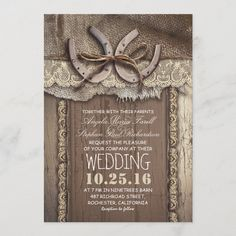 Country Wedding Invitations, Engagement Party Invitations, Vintage Wedding Invitations, Rustic Invitations, Bridal Shower Invitations, Dinner Invitations, Invites, Wedding Stationary, Quince Invitations