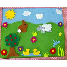 Childrens Country Scene - Fun Felt Play Mat | Flickr - Photo Sharing!