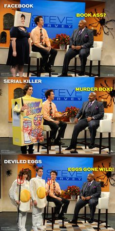 Halloween on The Steve Harvey Show with Kenan Thompson and Edward Norton   Saturday Night Live   SNL