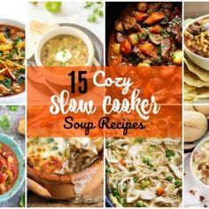 15 Cozy Slow Cooker Soup Recipes - Forks 'n' Flip Flops Moist Banana Bread, Banana Bread Recipes, Baked Crab Legs, Soup Recipes, Cooker Recipes, Diet Recipes, Slow Cooker Soup, Keto Dinner, Breakfast Recipes