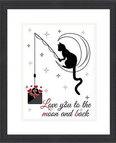 I've always loved silly images of the moon and this combined with this sweet sentiment makes a lovely gift for someone special. Available from Ginger Duck Retro Graphics. (scheduled via http://www.tailwindapp.com?utm_source=pinterest&utm_medium=twpin&utm_content=post91734153&utm_campaign=scheduler_attribution)