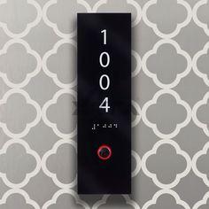 Özel tasarım Hotel Oda Numarası