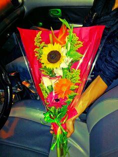 Las flores que no tenían la culpa de la rabia :(