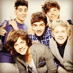 If this bunch of cuteness showed up to my house for my birthday I would die of excitement. :) <3