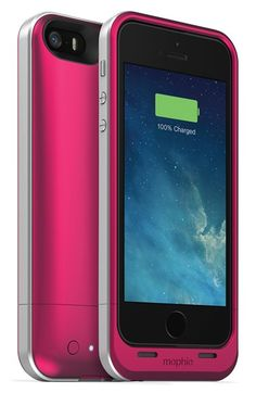 Mophie 'juice pack air' iPhone 5 & 5s charging case available at #Nordstrom
