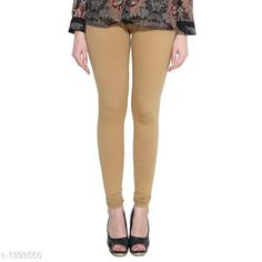 Checkout this latest Leggings Product Name: *Trendy Women's Cotton Lycra Legging* Fabric: Cotton Lycra Size: M - 30 in L - 32 in XL - 34 in XXL - 36 in XXXL - 38 in Length: Up To 38 in Type: Stitched Description: It Has 1 Piece Of Legging Pattern: Solid Country of Origin: India Easy Returns Available In Case Of Any Issue   Catalog Rating: ★4 (1822)  Catalog Name: Diva Trendy Women's Cotton Lycra Leggings Vol 1 CatalogID_180345 C79-SC1035 Code: 142-1393565-894