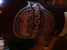 Innis & Gunn Rum Cask. I prefer the standard (Scotch) whisky barrel aged version, but still an enjoyable, distinct, refreshing taste. They both have substantial sweetness, but it seems to overpower the woody taste in this one. I wouldn't turn one down if offered though.