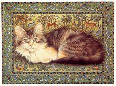 Кошки Lesley Anne Ivory (Лесли Энн Ивори). : kot_de_azur