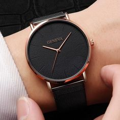 New Ultra-thin Women& Watch 2019 Lover& Watch Luxury Saat Rose Gold Mesh Stainless Steel Women& Watches Female Male Clock Trendy Watches, Mens Sport Watches, Casual Watches, Cool Watches, Watches For Men, Women's Watches, Cheap Watches, Watches Online, Wrist Watches