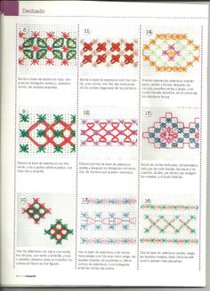 Discover thousands of images about Borders - Cross Stitch borders for inspiration Ribbon Embroidery, Embroidery Art, Cross Stitch Embroidery, Embroidery Patterns, Cross Stitch Patterns, Chicken Scratch Patterns, Chicken Scratch Embroidery, Bordado Tipo Chicken Scratch, Cross Stitch Alphabet