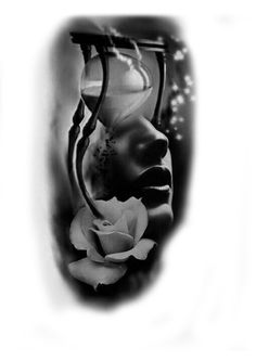 Chiara Anna..Adesso  che  tutto tace ,posso incominciare a guardare,il tempo che scorre,ascoltare quel richiamo della notte,che esplode ,con profumo immaginario di sogno e di luci soffuse.per dare un po' di tocco a questa  scena ,di una nuova non realtà Neue Tattoos, Body Art Tattoos, Sleeve Tattoos, Cool Tattoos, Tattoo Sketches, Tattoo Drawings, Tattoo Studio, Photoshop Tattoo, Tattoos Familie
